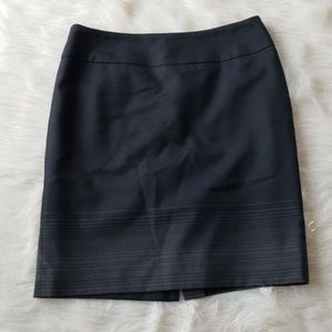 Anne Klein | Straight Mini Skirt